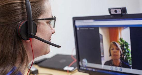 Vårdgivare snabbutbildar personal i digital vård