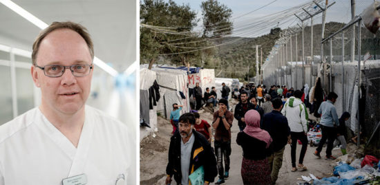 Svensk läkare varnar för coronaepidemi i flyktingläger