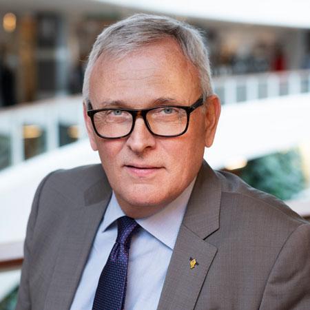Anders Knape, ordförande för Sveriges Kommuner och regioner. Foto: Hans Alm