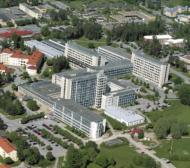 Gamla overhead-blad används som visir i Västerås