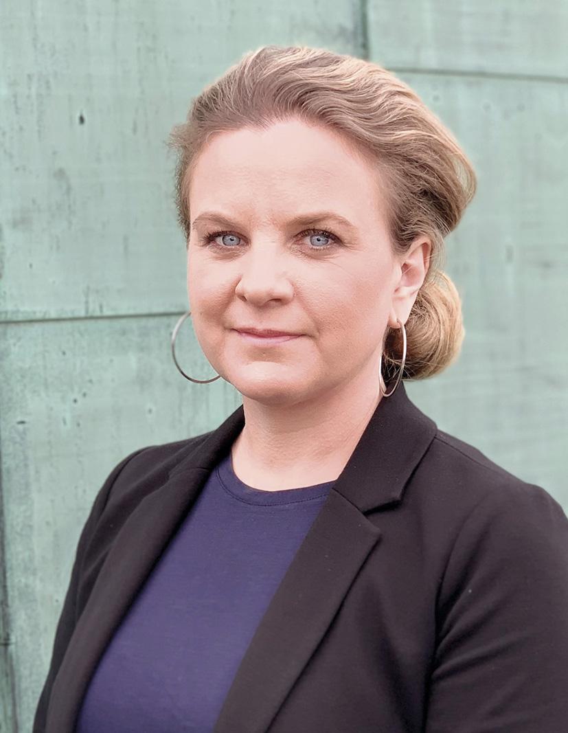 Johanna Sandwall, krisberedskapschef på Socialstyrelsen. Foto: Socialstyrelsen