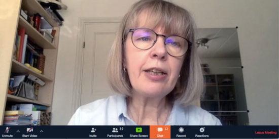 Marina Tuutma omvald till DLF-ordförande