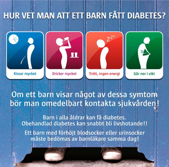 symtom vid diabetes typ 2