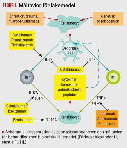 biologiska läkemedel mot psoriasis