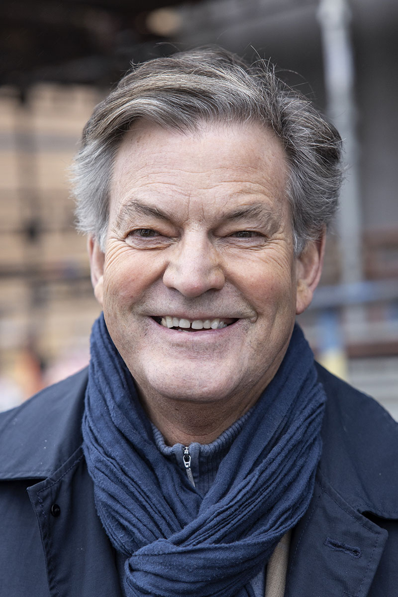 Per-Anders Abrahamsson, initiativtagare till Perituskliniken. Foto: André de Loisted