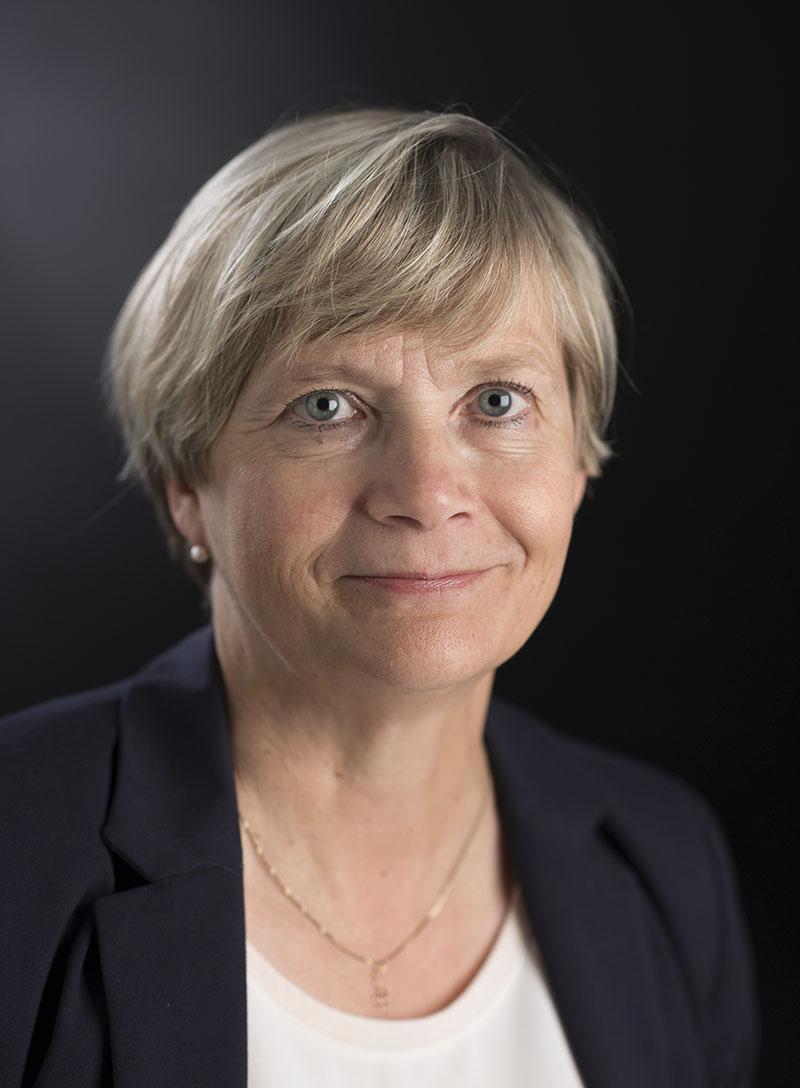 Annikki Roos, bibliotekschef, Karolinska institutet. Foto: Ulf Sirborn