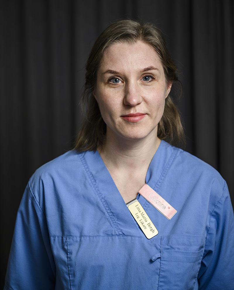 Grundfilosofin hos Bålstadoktorn tål att lyftas fram, tycker ST-läkare Lina-Maria Bergh om sin arbetsplats. Foto:Marc Femenia