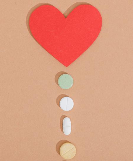 Läkemedelsanvändning efter kranskärlskirurgi minskar över tid