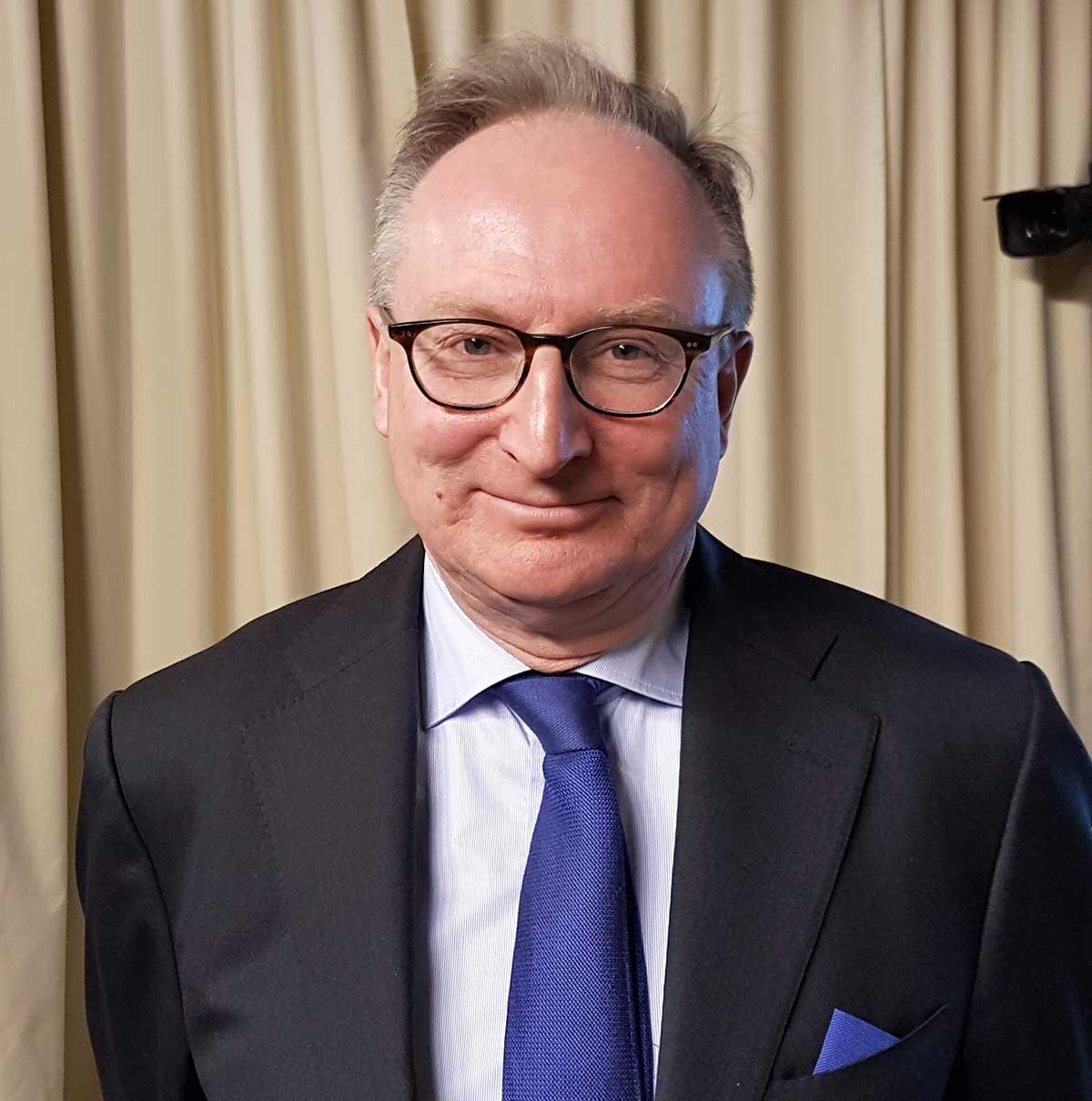 Regeringens utredare Gudmund Toijer. Foto: Katrin Trysell