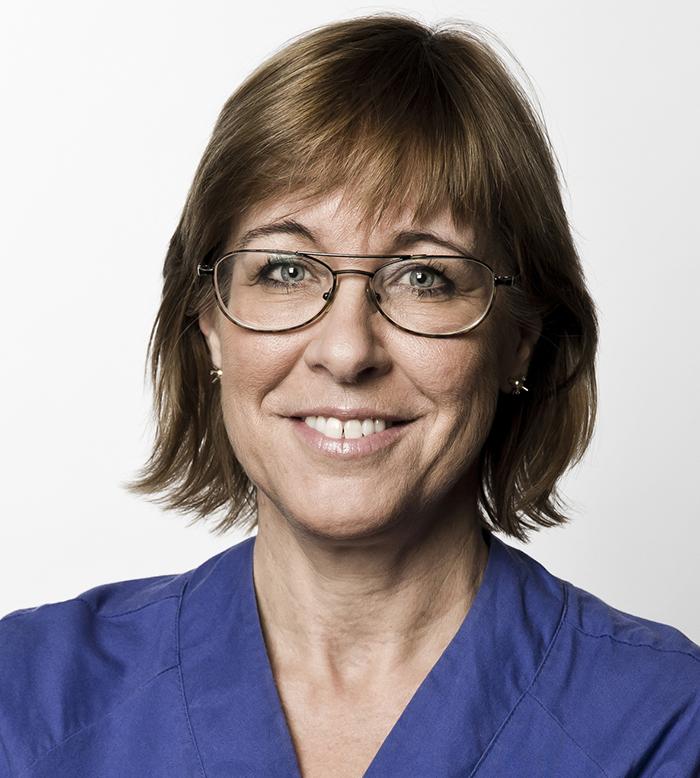 Karin Båtelson, förste vice ordförande i Läkarförbundet och ordförande i förbundsstyrelsens arbetsgrupp Klimat och hälsa. Foto: Rickard L Eriksson