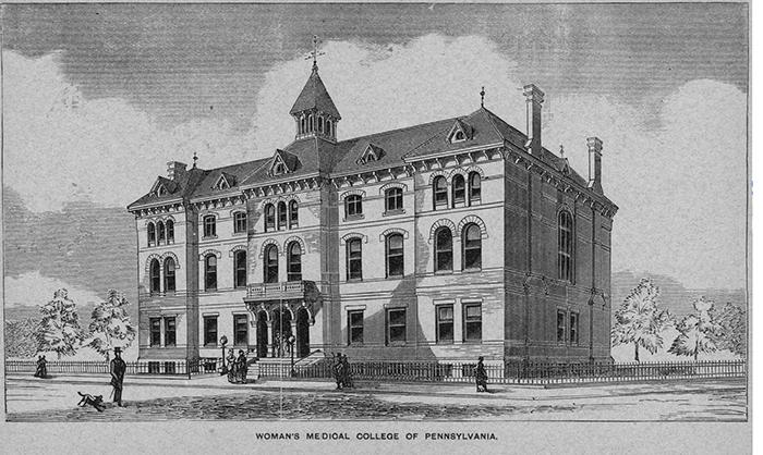 Women's Medical College of Pennsylvania, där Charlotte Yhlen tog medicinsk examen1873, bildades 1850.
