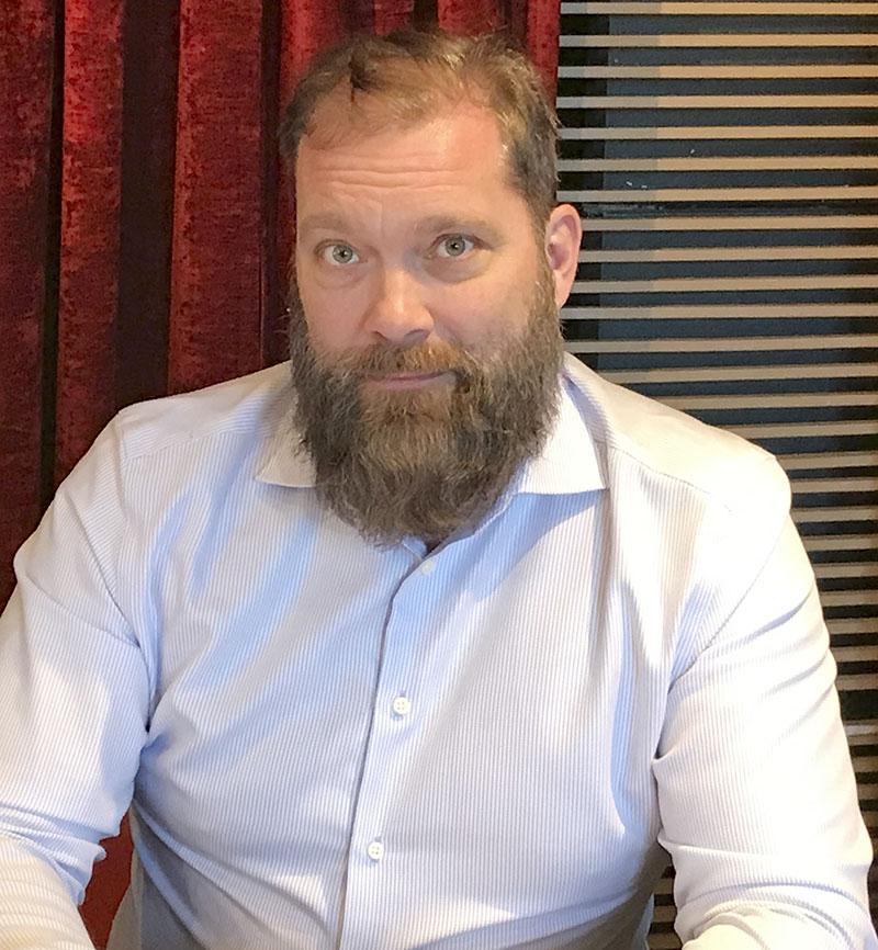 Andreas Fischer,ledamot i Sjukhusläkarna och ordförande för Sjukhusläkarna Stockholm. Foto: Anna Lehmusto