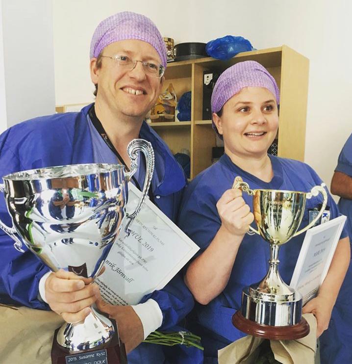 Hedersunderläkaren och hederssjuksköterskan 2019